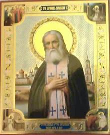 Icon Of Saint Seraphim Of Sarov